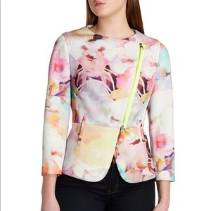 Ted Baker | Saamsa Electric Day Dream Biker Jacket